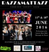 Razzamattazz Variety Show June 11th and 18th