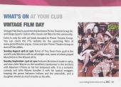 PTGs Aug & Sept 2012 Vintage Films in BargoSportsClub Magazine