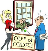 Out of Order Colour Picture from Simon