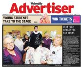 Front Page Wollondilly Advertiser 1st August 2006